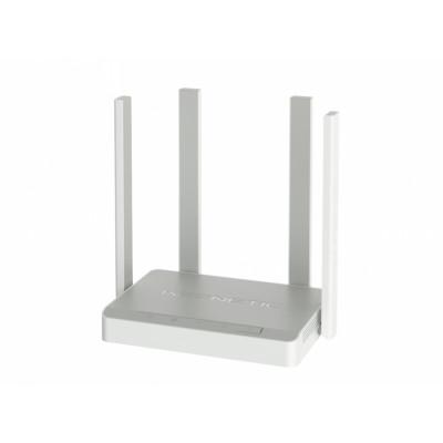 Keenetic Extra (KN-1711) Маршрутизатор беспроводной с Wi-Fi AC1200, усилителями приема/передачи, управляемым коммутатором и многофункциональным портом USB