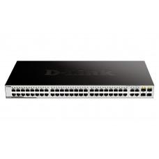 D-Link DGS-1052/A1 Неуправляемый коммутатор с 48 портами 10/100/1000Base-T и 4 комбо-портами 100/1000Base-T/SFP