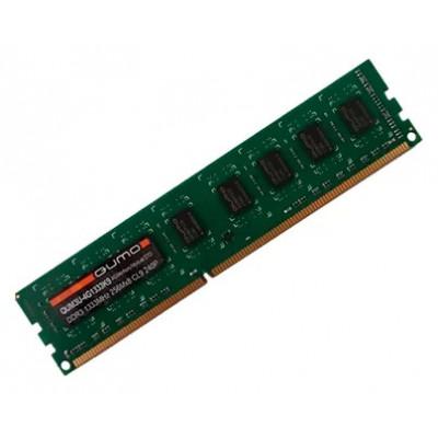 Оперативная память QUMO DDR3 DIMM 4GB (PC3-10600) 1333MHz QUM3U-4G1333C9/QUM3U-4G1333K9