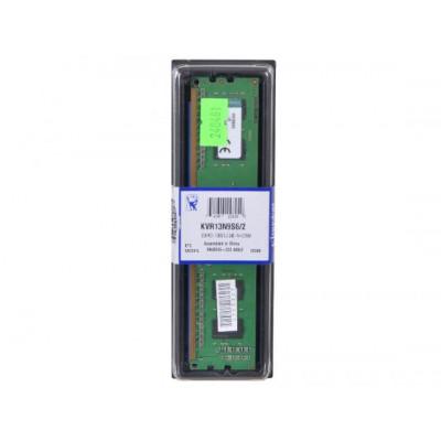 Оперативная память Kingston DDR3 DIMM 2GB (PC3-10600) 1333MHz KVR13N9S6/2