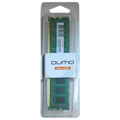 Оперативная память QUMO DDR3 DIMM 4GB (PC3-12800) 1600MHz QUM3U-4G1600C11 512x8chips