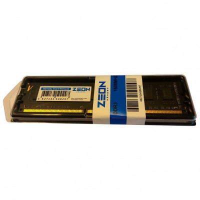 Оперативная память ZEON DDR3 DIMM 4GB (PC3-12800) 1600MHz  D316NHV1-4