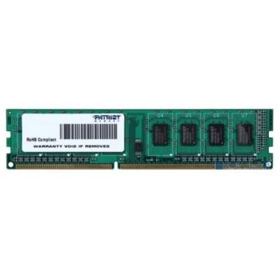 Оперативная память Patriot DDR3 DIMM 4GB (PC3-10600) 1333MHz PSD34G133381