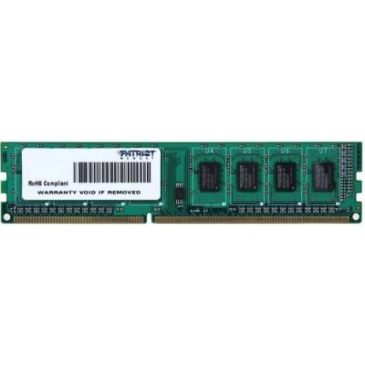 Оперативная память Patriot DDR3 DIMM 4GB (PC3-12800) 1600MHz PSD34G160081
