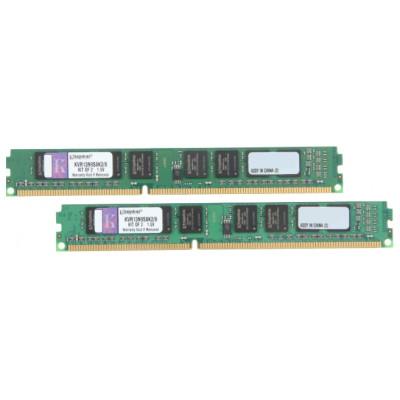 Оперативная память Kingston DDR3 DIMM 8GB (PC3-10600) 1333MHz Kit (2 x 4GB)  KVR13N9S8K2/8