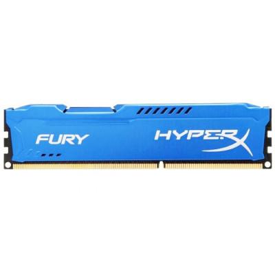 Оперативная память Kingston DDR3 DIMM 8GB (PC3-15000) 1866MHz HX318C10F/8  HyperX Fury Series CL10