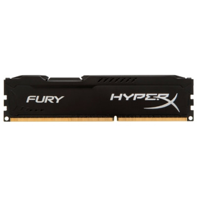 Оперативная память Kingston DDR3 DIMM 8GB (PC3-10600) 1333MHz HX313C9FB/8 FURY Black Series CL9