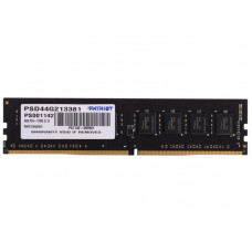 Patriot DDR4 DIMM 4GB PSD44G213381 PC4-17000, 2133MHz
