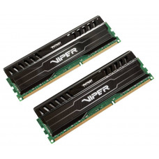 Patriot DDR3 DIMM 8GB Kit 2x4Gb (PC3-12800) 1600MHz PV38G160C9K Viper3