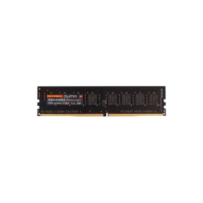 Оперативная память  QUMO DDR4 DIMM 4GB QUM4U-4G2400C16 PC4-19200, 2400MHz