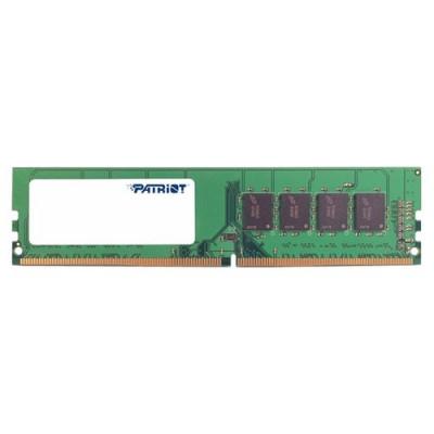 Оперативная память  Patriot DDR4 DIMM 4GB PSD44G240082 PC4-19200, 2400MHz