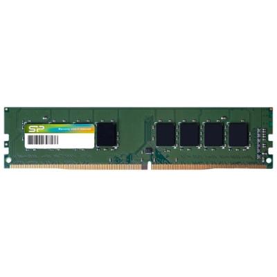 Оперативная память  Silicon Power DDR4 DIMM 4GB SP004GBLFU240N02 PC4-19200, 2400MHz