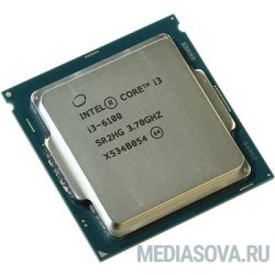 Процессор CPU Intel Core i3-6100 Skylake OEM 3.70Ггц, 3МБ, Socket 1151