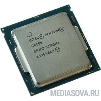 Процессор CPU Intel Pentium G4500 Skylake OEM 3.5ГГц, 3МБ, Socket1151
