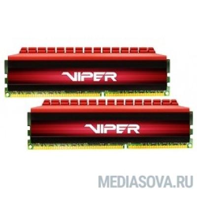 Оперативная память  Patriot DDR4 DIMM 16GB Kit 2x8Gb PV416G320C6K PC4-25600, 3200MHz, CL16, Viper4
