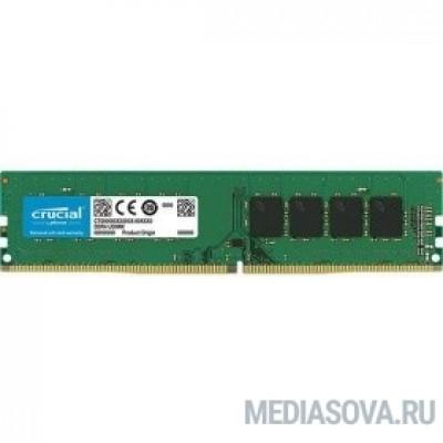 Оперативная память  Crucial DDR4 DIMM 16GB CT16G4DFD8266 PC4-21300, 2666MHz