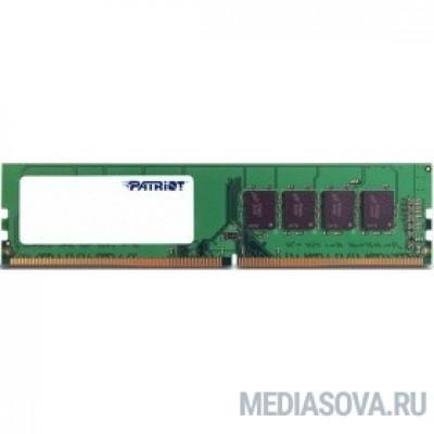 Оперативная память  Patriot DDR4 DIMM 8GB PSD48G266681 PC4-21300, 2666MHz
