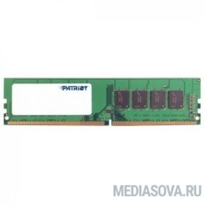 Оперативная память  Patriot DDR4 DIMM 4GB PSD44G266681 PC4-21300, 2666MHz