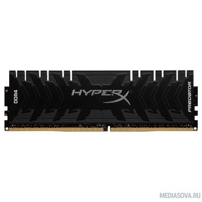 Оперативная память  Kingston DDR4 DIMM 8GB HX436C17PB4/8 PC4-28800, 3600MHz, CL17, HyperX Predator