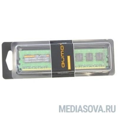 Оперативная память QUMO DDR3 DIMM 8GB (PC3-12800) 1600MHz QUM3U-8G1600C11(R)