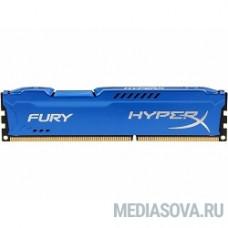 Kingston DDR3 DIMM 4GB (PC3-12800) 1600MHz HX316C10F/4 HyperX Fury Series CL10