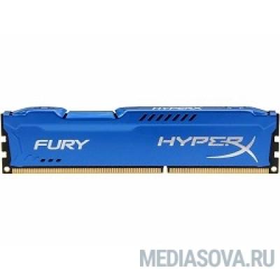 Оперативная память Kingston DDR3 DIMM 4GB (PC3-12800) 1600MHz HX316C10F/4 HyperX Fury Series CL10