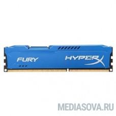 Kingston DDR3 DIMM 4GB (PC3-15000) 1866MHz HX318C10F/4 HyperX Fury Series CL10
