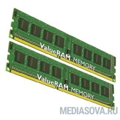 Оперативная память Kingston DDR3 DIMM 16GB (PC3-10600) 1333MHz Kit (2 x 8GB) KVR13N9K2/16