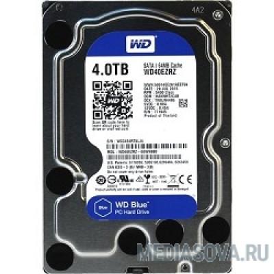 Жесткий диск 4TB WD Blue (WD40EZRZ) Serial ATA III, 5400 rpm, 64Mb buffer