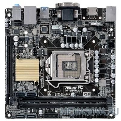 Материнская плата ASUS H110I-PLUS Материнская плата  Soc-1151 Intel H110 2xDDR4 mini-ITX AC`97 8ch(7.1) GbLAN+VGA+DVI+HDM RTL