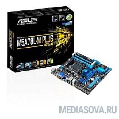Материнская плата Asus M5A78L-M PLUS/USB3 RTL USB3 Soc-AM3+ AMD 760G 4xDDR3 mATX AC`97 8ch(7.1) GbLAN RAID+VGA+DVI+HDMI