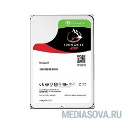 Жесткий диск 4TB Seagate Ironwolf (ST4000VN008) SATA 6.0Gb/s, 5900 rpm, 64mb buffer, 3.5