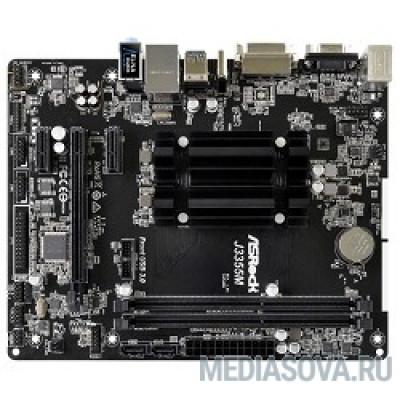 Материнская плата ASROCK J3355M mATX, Ret Intel J3355M, 2*DDR3, PCI-E16x, D-SUB, DVI, HDMI, SATA III, GB Lan, USB 3.0