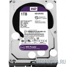 1TB WD Purple (WD10PURZ) Serial ATA III, 5400- rpm, 64Mb, 3.5