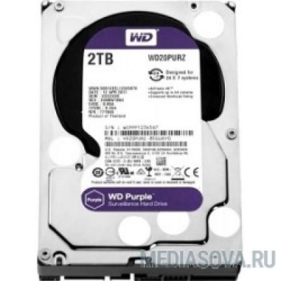 Жесткий диск 2TB WD Purple (WD20PURZ) Serial ATA III, 5400- rpm, 64Mb, 3.5