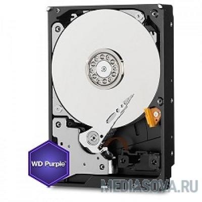 Жесткий диск 4TB WD Purple (WD40PURZ) Serial ATA III, 5400- rpm, 64Mb, 3.5