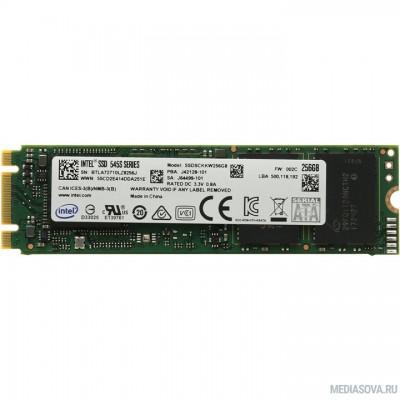 Intel SSD 256Gb M.2 545s серия SSDSCKKW256G8X1
