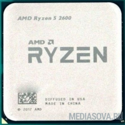 Процессор CPU AMD Ryzen 5 2600 BOX 3.9GHz, 19MB, 65W, AM4, with Wraith Stealth cooler