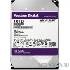 10TB WD Purple (WD101PURZ) Serial ATA III, 7200- rpm, 256Mb, 3.5