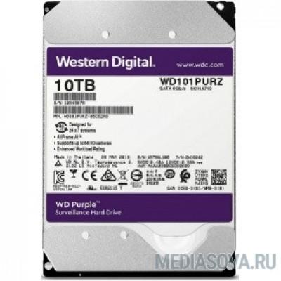 Жесткий диск 10TB WD Purple (WD101PURZ) Serial ATA III, 7200- rpm, 256Mb, 3.5
