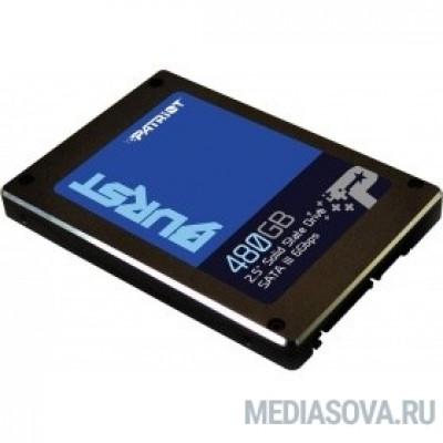 Patriot SSD 480Gb Burst PBU480GS25SSDR SATA 3.0
