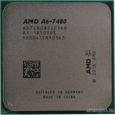 Процессор CPU AMD A6 X2 7480 OEM 3.8ГГц, 1Мб, SocketFM2+