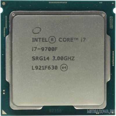 Процессор CPU Intel Core i7-9700F Coffee Lake OEM (without graphics)
