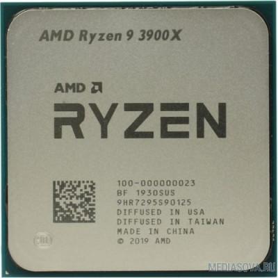 Процессор CPU AMD Ryzen 9 3900X OEM 3.8GHz up to 4.6GHz/12x512Kb+64Mb, 12C/24T, Matisse, 7nm, 105W, unlocked, AM4