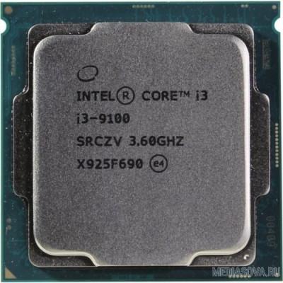 Процессор CPU Intel Core i3-9100 Coffee Lake OEM 3.60Ггц, 6МБ, Socket 1151v2