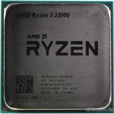 Процессор CPU AMD Ryzen 3 3200G OEM 3.6GHz/Radeon Vega 8