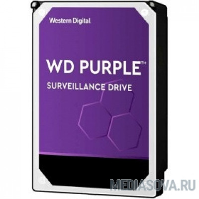Жесткий диск 8TB WD Purple (WD82PURZ) Serial ATA III, 7200- rpm, 256Mb, 3.5