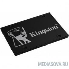 Kingston SSD 256GB KC600 Series SKC600/256G SATA3.0