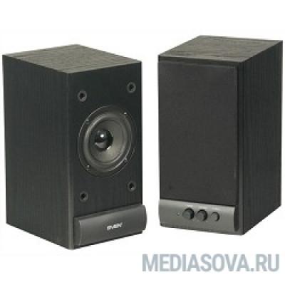 SVEN SPS-609, черный 2.0, 2 х 5 W RMS