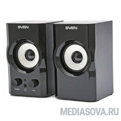 SVEN SPS-605, черный 2 х 3 Вт,100 - 18000 Гц, 220 В, 50 Гц
